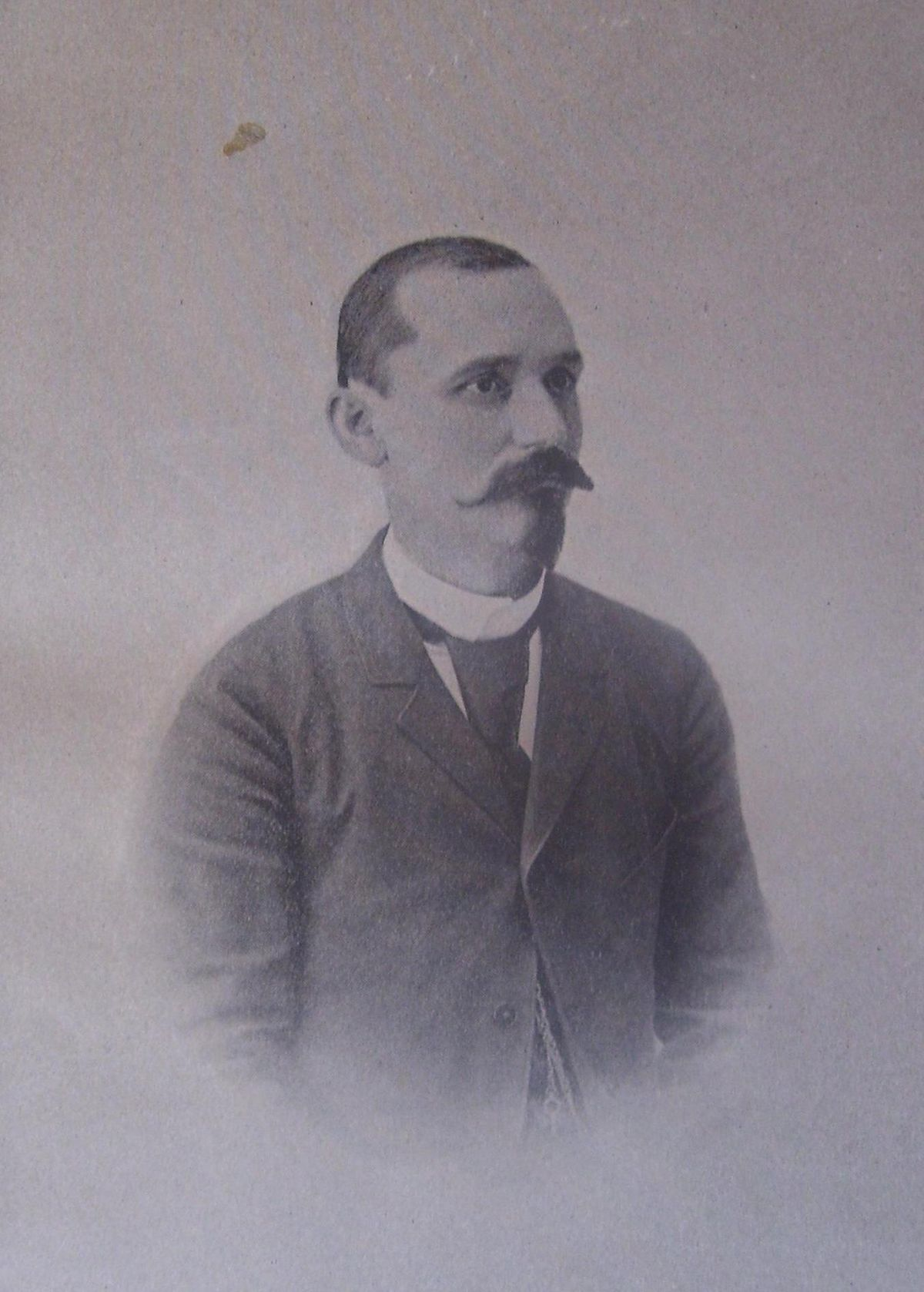 Portrait of Trayo Kitanchev