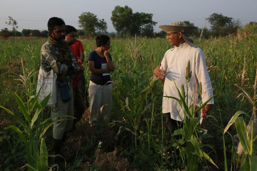 Нарсана Копула, създателят на Aranya Agricultural Alternatives, Индия