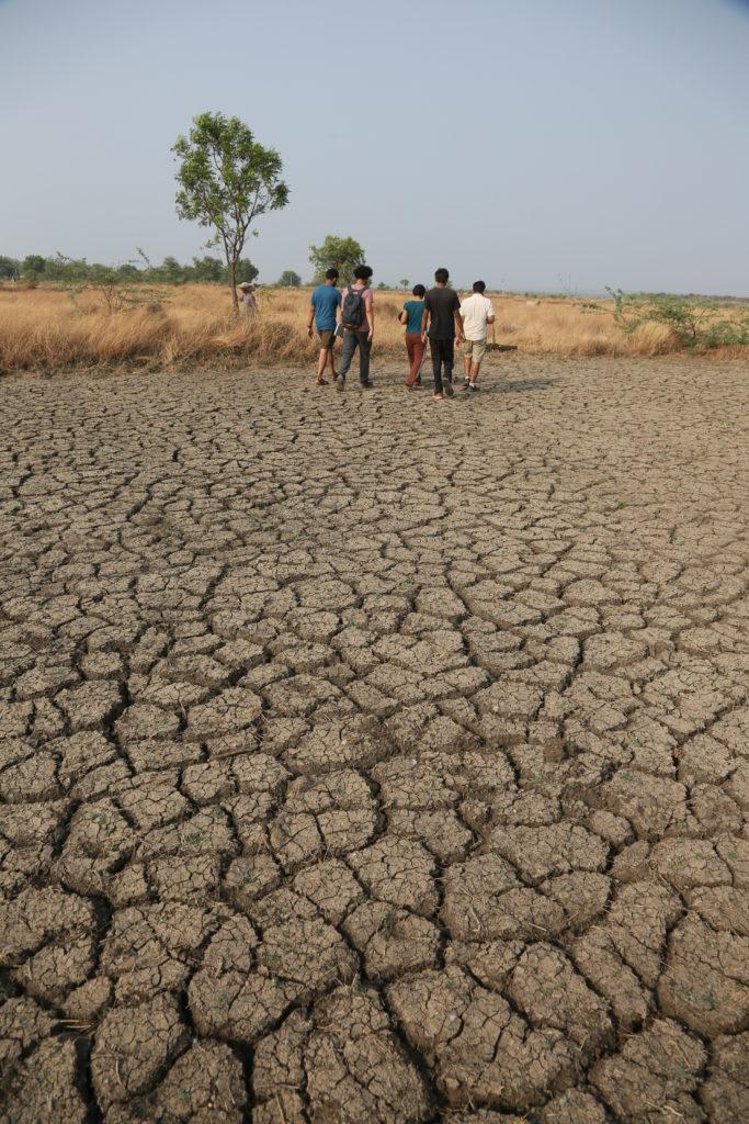 Неплодородието на земята в този район на Индия