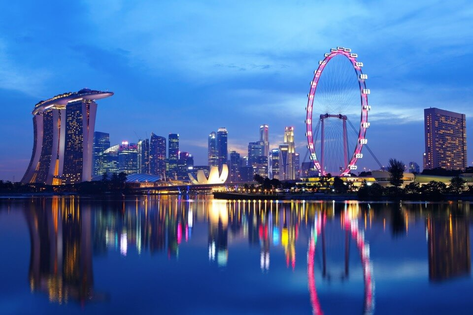 The Lion City - The secret of Singapore city